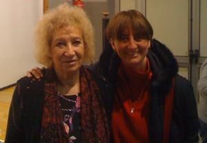 Laura Tussi con Egidia Beretta Arrigoni