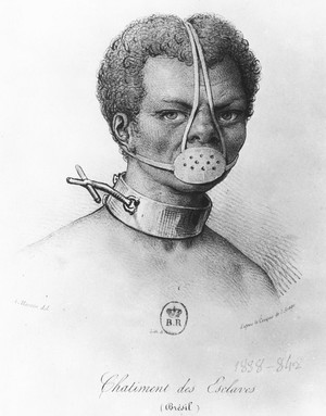 Castigo de Escravos, Jacques Etienne Arago - século XIX