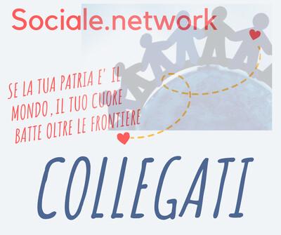 Stiamo promuovendo un social network etico, senza pubblicità, libero dalla mercificazione dell'informazione; un network sociale per chi ha a cuore un mondo pulito, pacifico e solidale. Si chiama Sociale.network e se clicchi qui puoi già fare il tuo account.