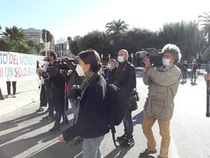 Flash mob 17 ottobre 2020 sotto al Comune di Taranto