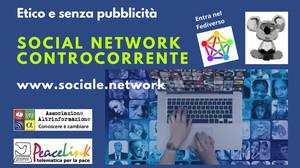 Sociale.network è un social network etico e libero da pubblicità.