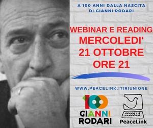 Webinar di Peacelink su Gianni Rodari