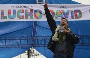 Luis Arce presidente della Bolivia