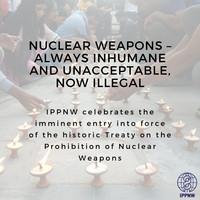 Armi nucleari: inumane, inaccettabili, e adesso illegali