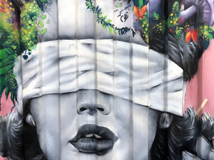 Mural en Medellin (Foto G. Iglesias | Rel UITA)