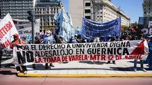 Argentina: calpestato il diritto all'abitare