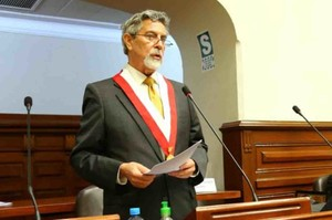 Francisco Sagasti (Foto La Tercera)