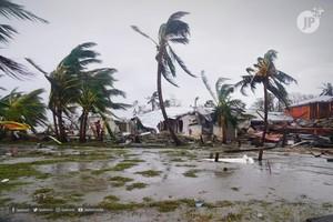 Distruzione a Bilwi (Foto JP)
