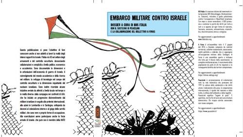 Copertina libro Embargo contro Israele