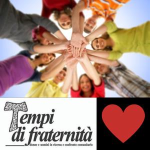 Sezione Pace per l'umanità nel sito della storica rivista Tempi di Fraternità