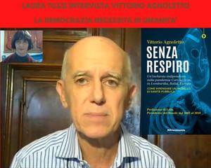 """Intervista per il lancio del libro di Vittorio Agnoletto """"Senza Respiro"""""""