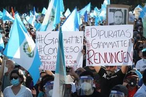 Protesta nella capitale