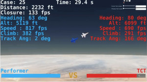 Combattimento simulato in volo