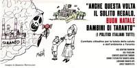 A Taranto è stato affisso questo grande manifesto