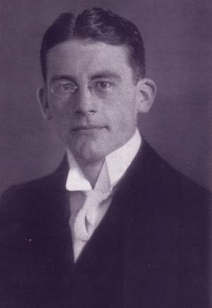 Carl Schmitt quand'era studente