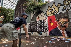 Demonstration Hong Kong 11