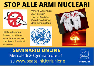 Formare i docenti per educare al disarmo nucleare nelle scuole italiane