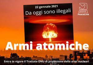 Le armi nucleari diventano illegali