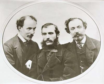 Photo of the brothers Alinari, founders of Fratelli Alinari