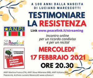 Testimoniare la Resistenza. A cento anni dalla nascita di Luciano Marescotti