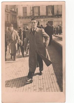 Luigi De Mitri, nato il 12 ottobre 1920, padre di Adriana De Mitri