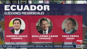 Elezioni presidenziali Ecuador: ballottaggio