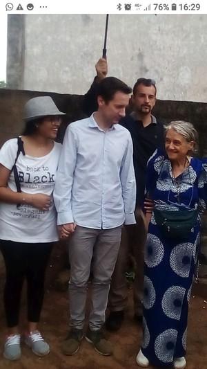 Luca Attanasio con Chiara Castellani