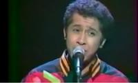 Il cantante algerino Khaled nel 1996