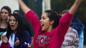"La giovane protagonista Lyna Khoudri del film algerino ""Papicha"""