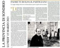 Padre Turoldo, il Partigiano