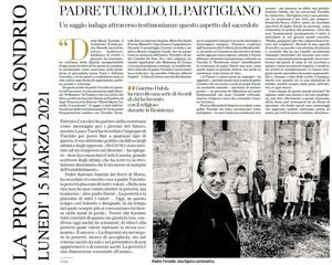 """Libro Mimesis """"David Maria Turoldo, il Resistente"""""""