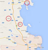 Relazione su Augusta, Melilli, Priolo