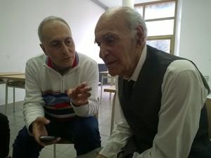 Alessandro Marescotti con il padre Luciano