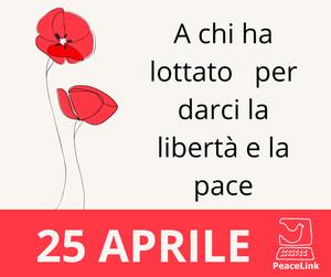 Buon 25 Aprile da PeaceLink