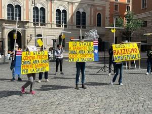 """""""Razzismo ambientale"""". Manifestazione a Roma (12-13 maggio 2021) per la chiusura dell'area a caldo dell'ILVA"""