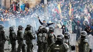 Repressione in Colombia