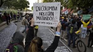 Colombia: cresce il numero di morti, feriti e desaparecidos