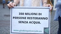 """""""Portiamo lo Stato italiano in giudizio per salvare il clima e le risorse idriche!"""""""