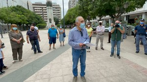 Alessandro Marescotti alla conferenza stampa del Comitato Cittadino per la Salute e l'Ambiente a Taranto