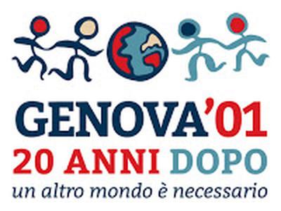 Logo della rete Genova 2001 vent'anni dopo: un altro mondo è possibile