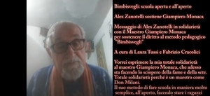 """Alex Zanotelli sostiene il metodo pedagogico """"Bimbisvegli"""""""