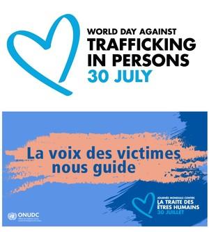 banner della Campagna The Blue Heart Campaign, 2021
