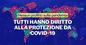 No profit on pandemic - Italia