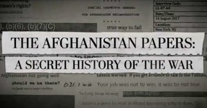 Gli Afghanistan Papers rivelanti dal Washington Post