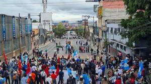 Proteste in Guatemala (Foto Prensa Comunitaria