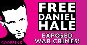 La campagna delle donne pacifiste di Codepink per Daniel Hale