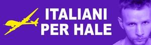 Italiani per Hale, il logo del gruppo di solidarietà
