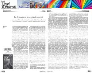 Vittorio Agnoletto: democrazia e umanità