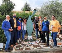 Alife, un monumento a Gino Strada e a Teresa Sarti