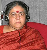 "Vandana Shiva:""Occidente incivile"""